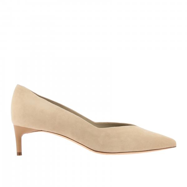 Classic Max Mara pointed toe suede décolleté