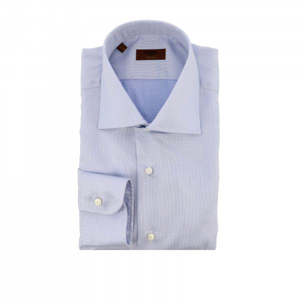 Camicia Barba Napoli con collo francese