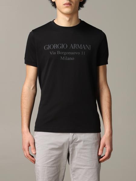 T-shirt Giorgio Armani a maniche corte con logo