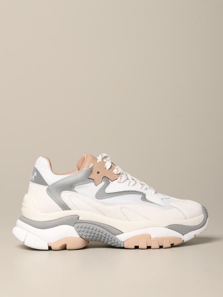 Sneakers Addict 08 Ash in pelle e rete