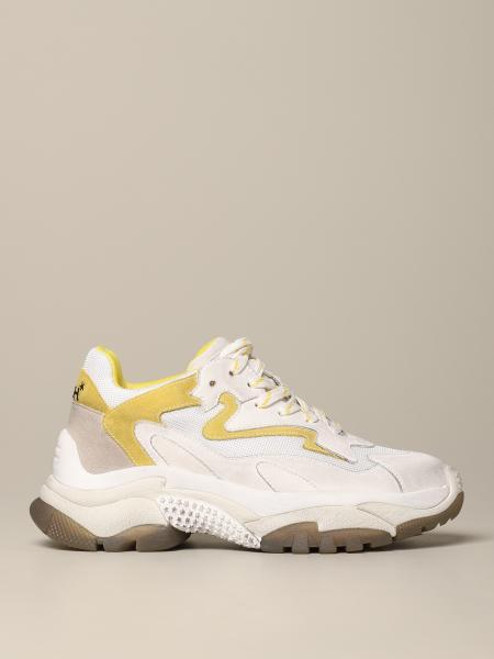 Sneakers Addict 02 Ash in pelle e rete