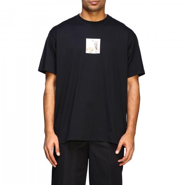 T-shirt Burberry a maniche corte con stampa