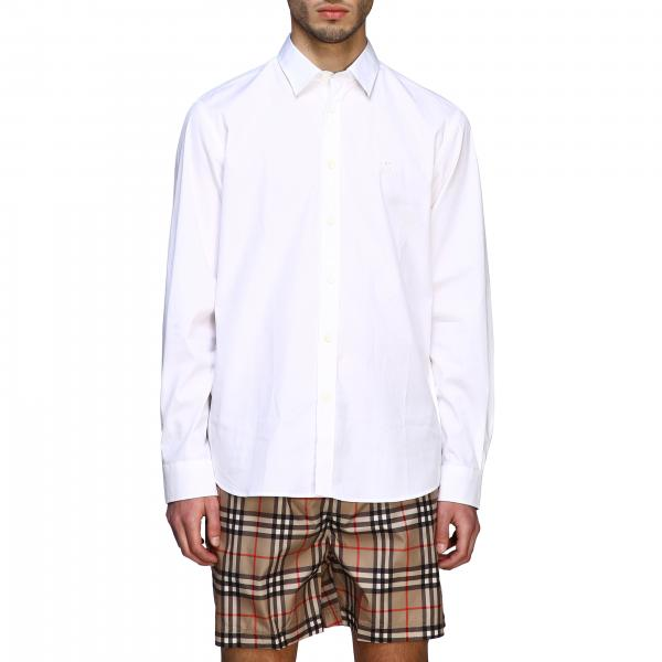 Classic Burberry shirt with Italian collar