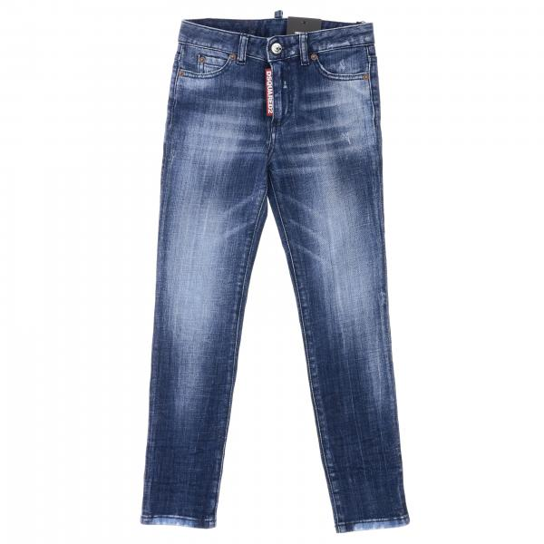 Jeans Dsquared2 Junior in denim used
