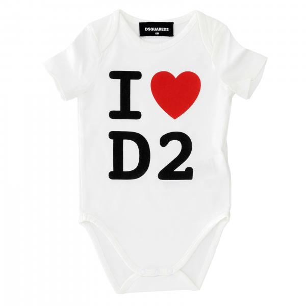 Body Dsquared2 Junior con logo