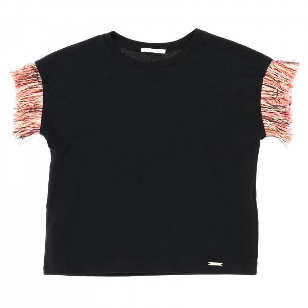 Liu Jo short-sleeved T-shirt with fringes