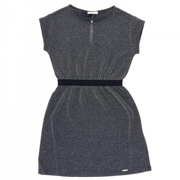 Liu Jo lurex short-sleeved dress
