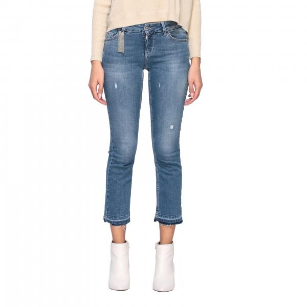 Liu Jo low-waisted jeans with breaks