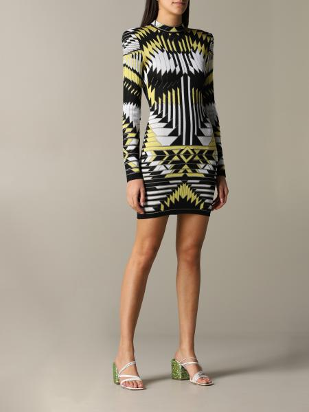 Balmain dress in shaped fabric