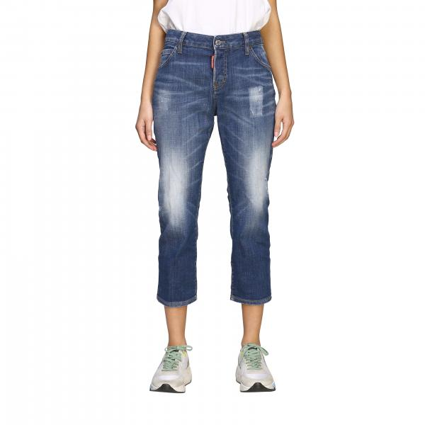 Jeans Dsquared2 regular fit a vita regolare