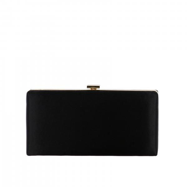 Clutch Dsquared2 da sera in raso con logo