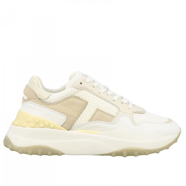Sneakers Tod's in pelle camoscio e rete