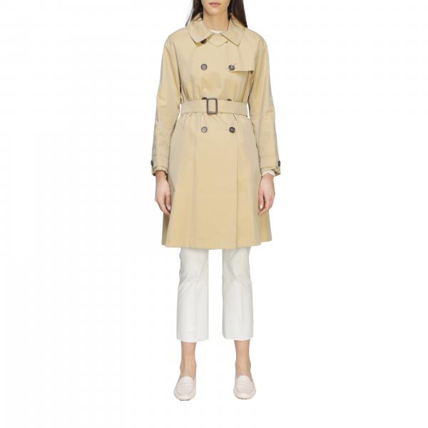 Max Mara double-breasted trench coat with belt