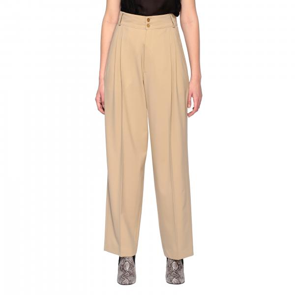 Alysi high-waisted trousers with america pockets