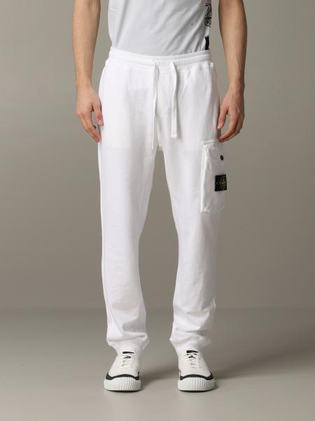 Stone Island jogging trousers with logo