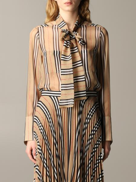 Burberry vintage striped shirt