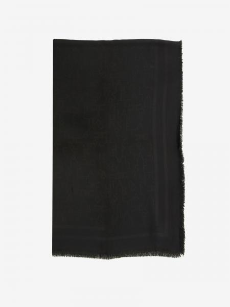 Elisabetta Franchi scarf in tone on tone pattern