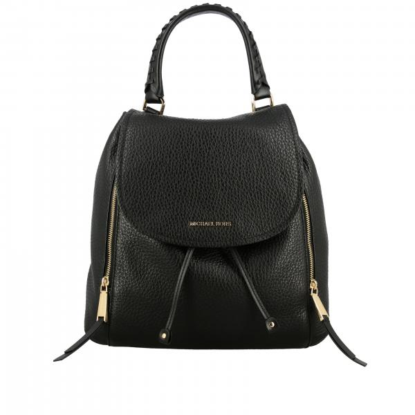 Michael Michael Kors backpack in textured leather with logo