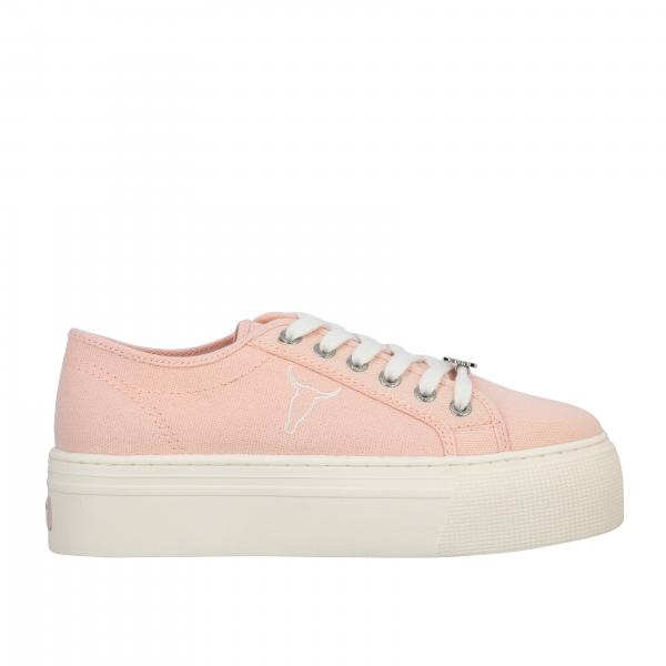 Sneakers WSruby Windsorsmith in tela con logo