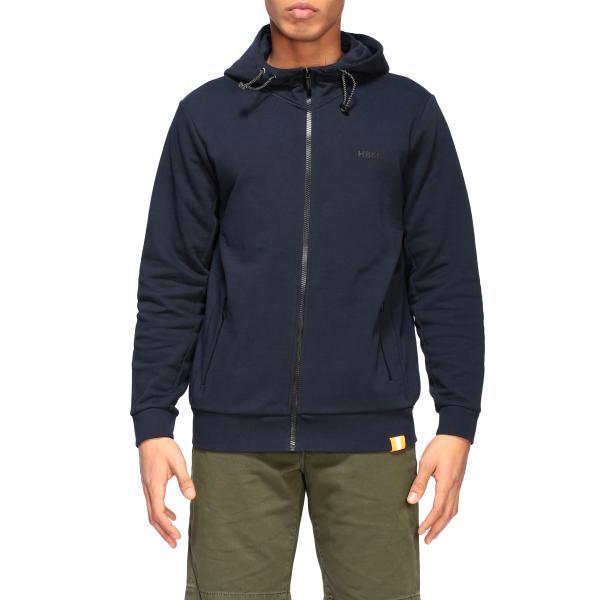 Hogan sweatshirt with hood and zip