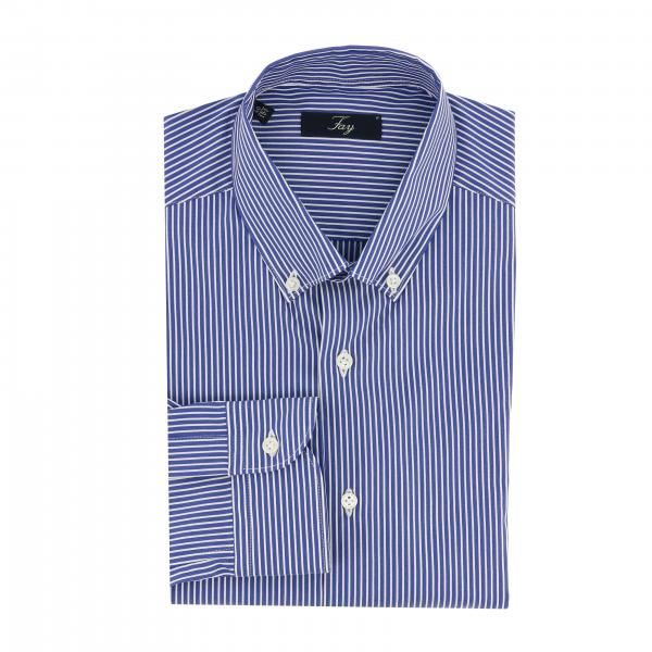 Camicia Fay classico con collo button down
