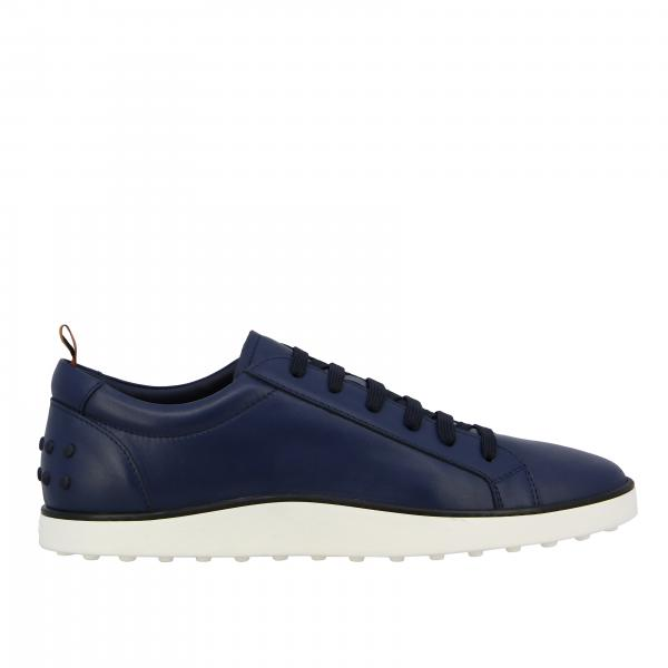 Sneakers Tod's in pelle con suola in gomma