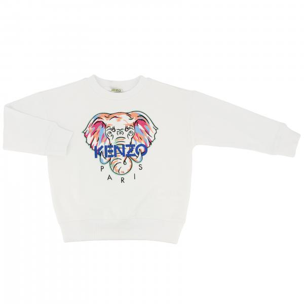 Kenzo Junior sweatshirt with elephant print