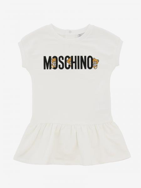 Moschino Baby dress with teddy print