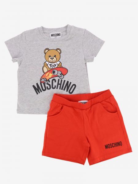 Ensemble T-shirt + short Moschino Baby