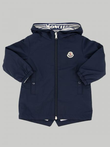 Moncler jacket with hood and logo