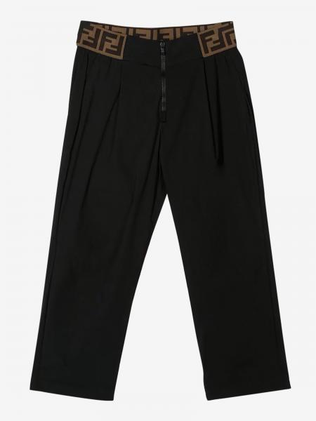 Fendi trousers with FF all over band