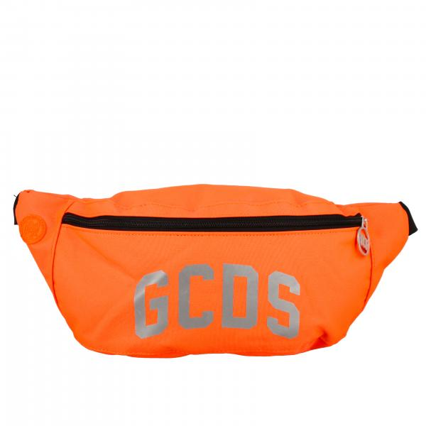 Gcds belt bag in canvas with logo print