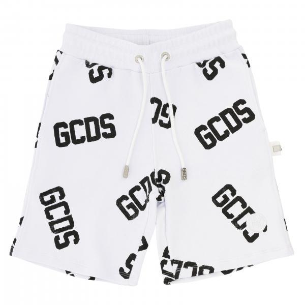 Pantaloncino Gcds con coulisse e logo