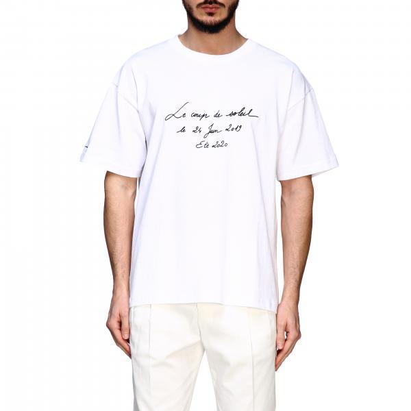 Jacquemus 字母印花圆领T恤