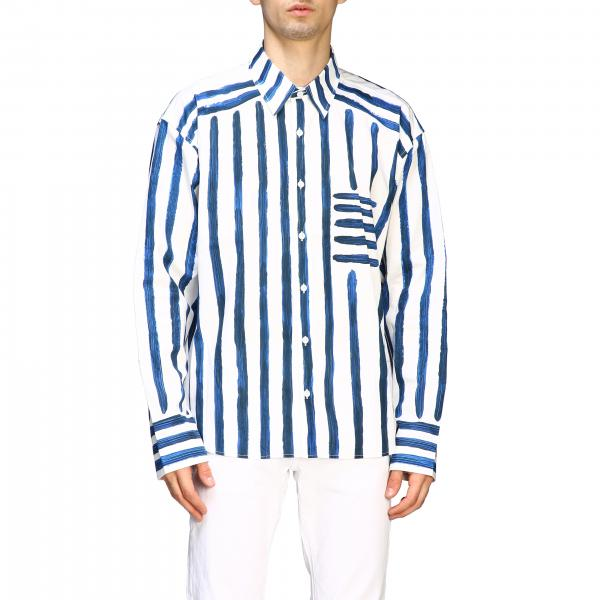 Camicia Jacquemus con righe dipinte