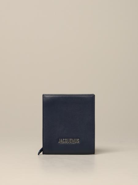 Portefeuille Le Gadjo Jacquemus en cuir avec logo