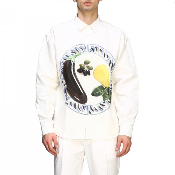 Camicia Jacquemus stampata