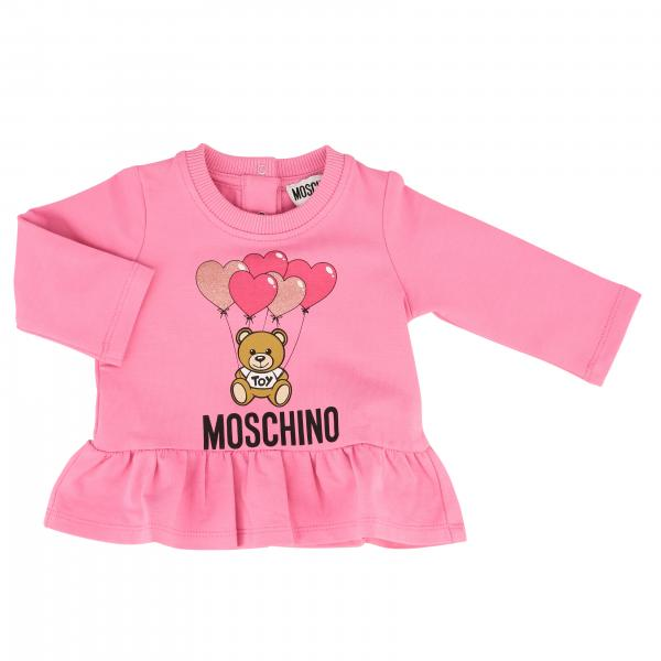 Pull Moschino Baby imprimé teddy
