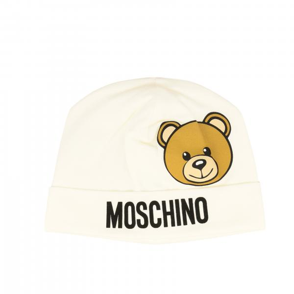 Cappello Moschino Baby con stampa teddy