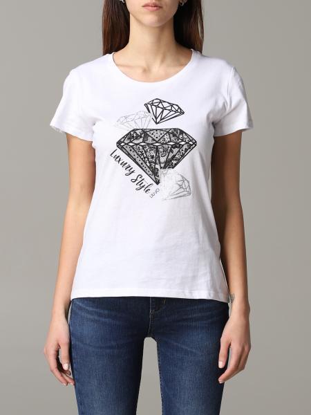 T-shirt Liu Jo con stampa heart