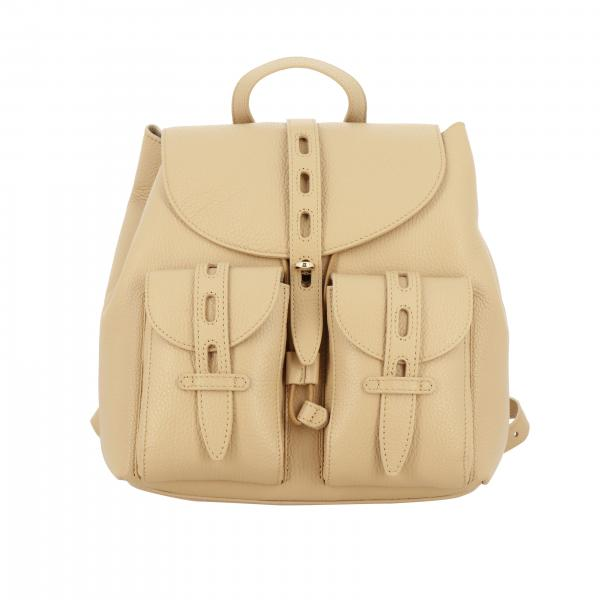 Furla textured pelel backpack
