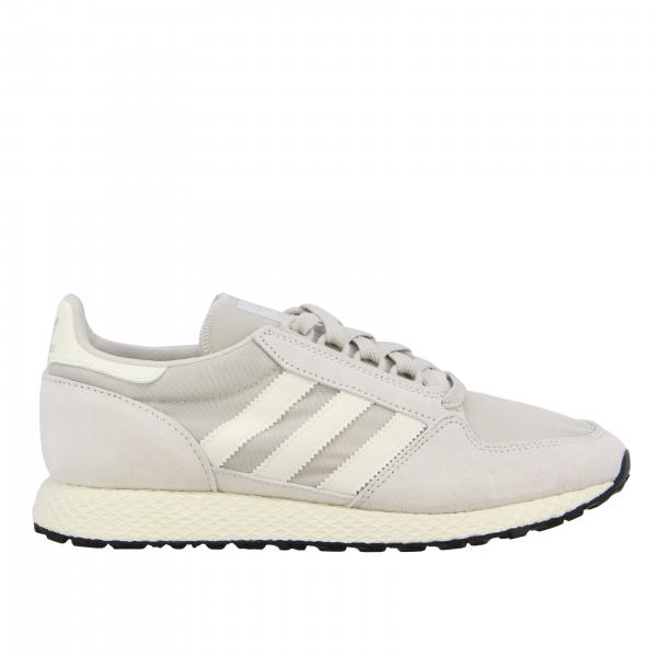 Forest Grove Adidas Originals Sneakers aus Mesh und Nabuk
