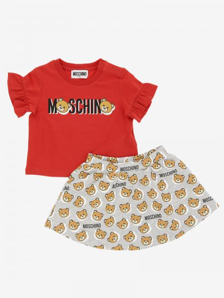 Completo t-shirt + gonna Moschino Baby