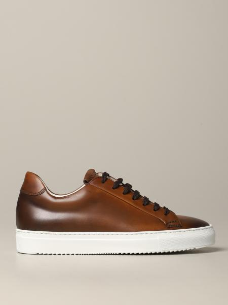 Doucal's sneakers in leather