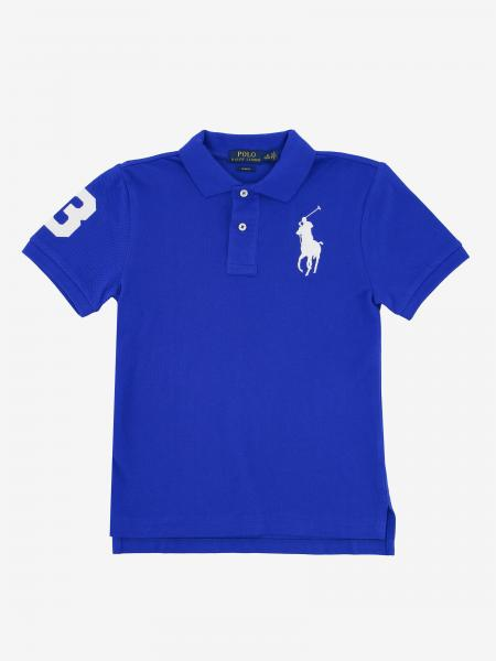 Polo Ralph Lauren Boy polo shirt with short sleeves