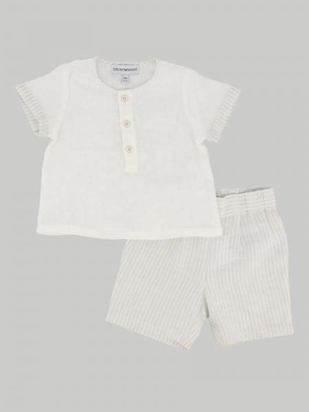 Emporio Armani t-shirt + shorts set