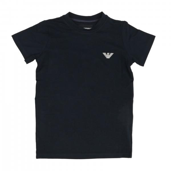Emporio Armani short-sleeved T-shirt with logo