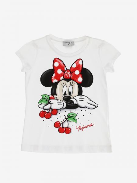 T-shirt Monnalisa avec imprimé Minnie