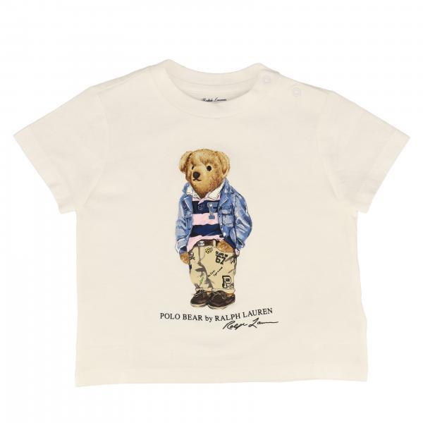 T-shirt Polo Ralph Lauren Kid a maniche corte con logo