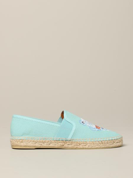 Kenzo canvas espadrilles with the Tiger Kenzo Paris logo